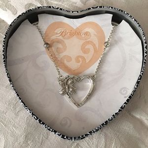 Brighton Beautiful Heart and Butterfly Necklace